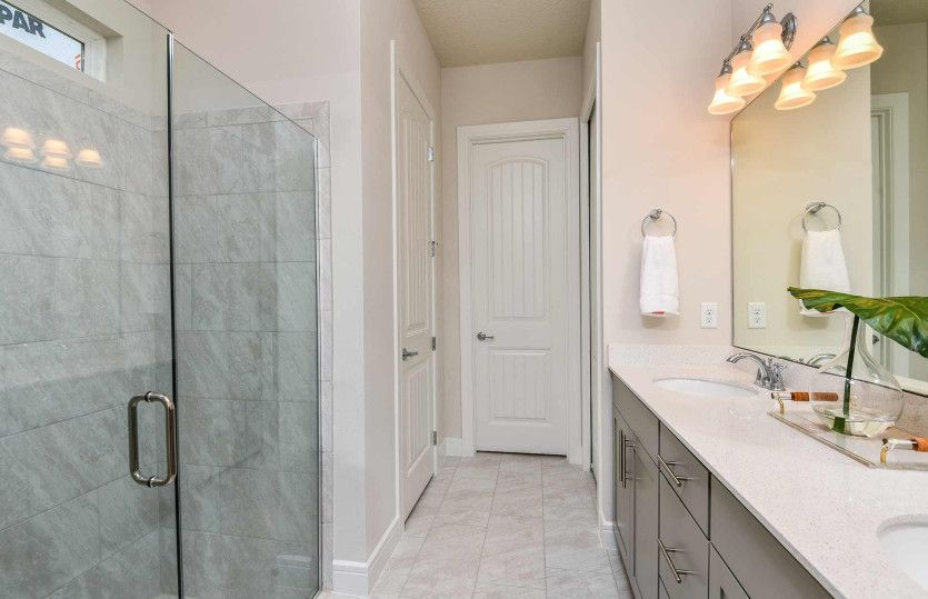 Bathroom featured in the Whitestone By DiVosta Homes in Palm Beach County, FL