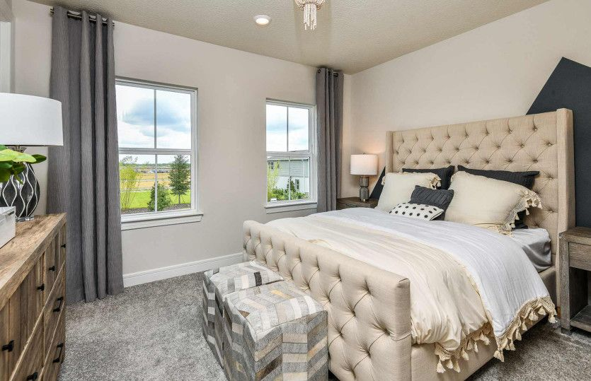 Bedroom featured in the Whitestone By DiVosta Homes in Palm Beach County, FL