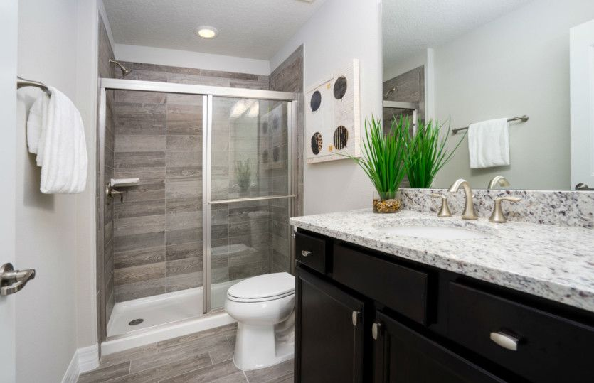 Bathroom featured in the Oakley By DiVosta Homes in Palm Beach County, FL