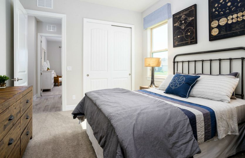 Bedroom featured in the Oakley By DiVosta Homes in Palm Beach County, FL