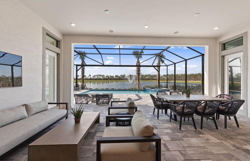 Exterior featured in the Layton By DiVosta Homes in Palm Beach County, FL