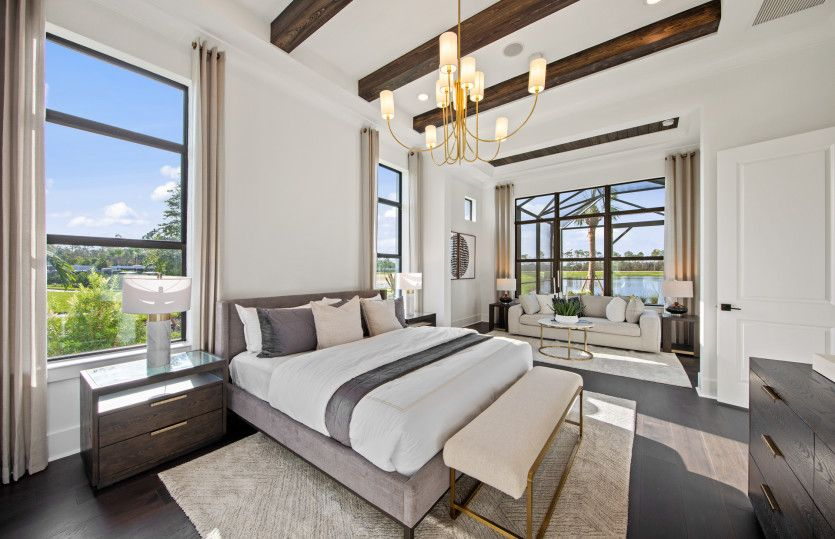 Bedroom featured in the Livingston By DiVosta Homes in Palm Beach County, FL