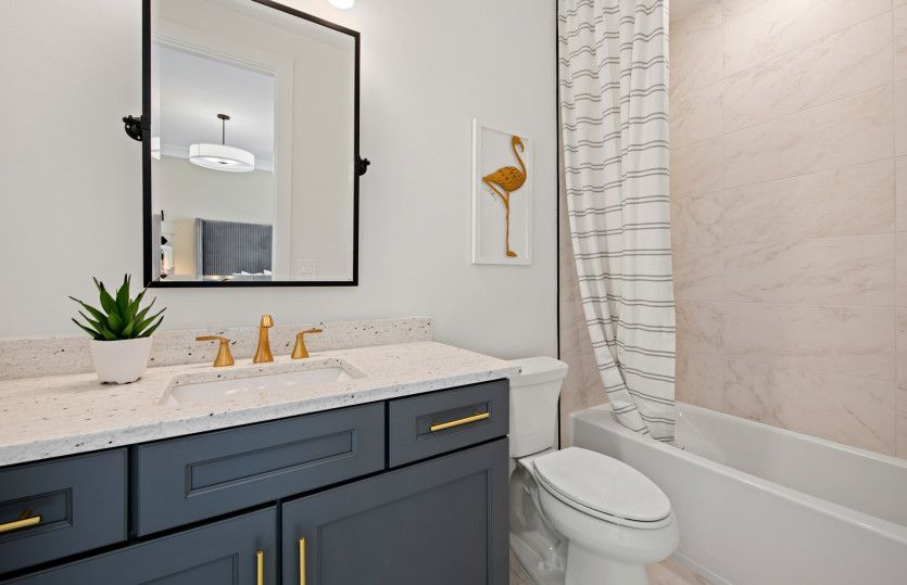 Bathroom featured in the Livingston By DiVosta Homes in Palm Beach County, FL