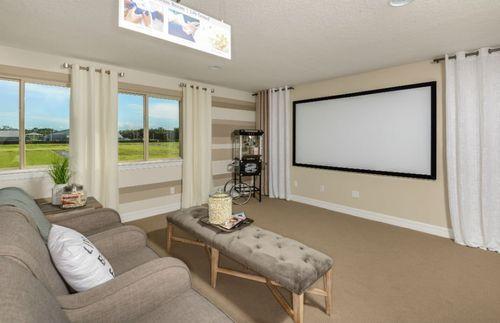Media-Room-in-Dockside-at-Veranda Gardens-in-Port Saint Lucie