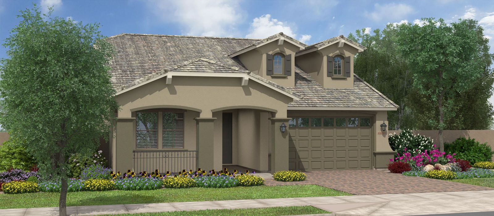 Exterior featured in the Rutherford w/Loft By Fulton Homes in Phoenix-Mesa, AZ