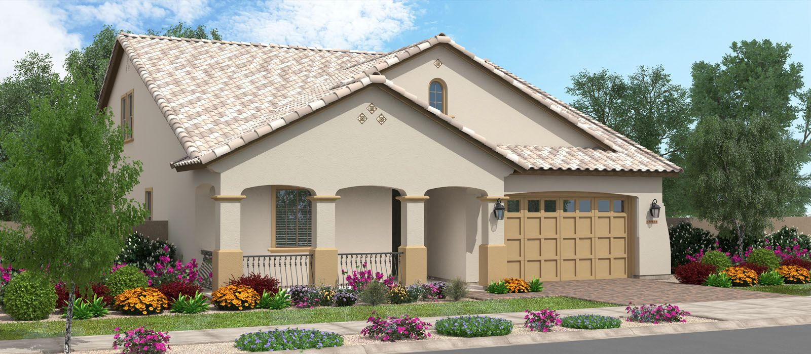 Exterior featured in the Acacia w/Loft By Fulton Homes in Phoenix-Mesa, AZ