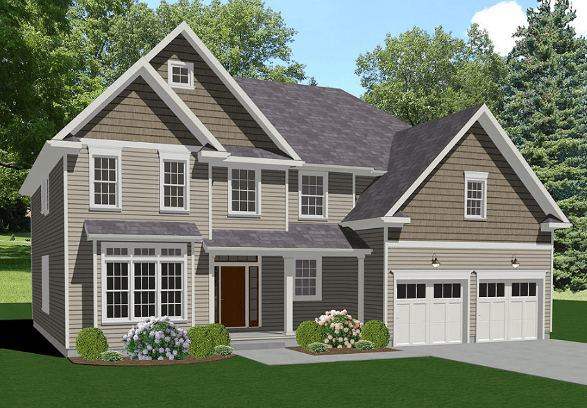 Exterior featured in The Wynnewood By Keswick Pointe in Poconos, PA