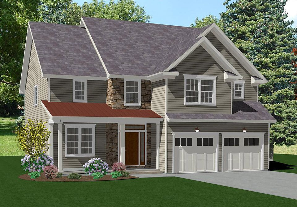Exterior featured in The Radnor By Keswick Pointe in Poconos, PA
