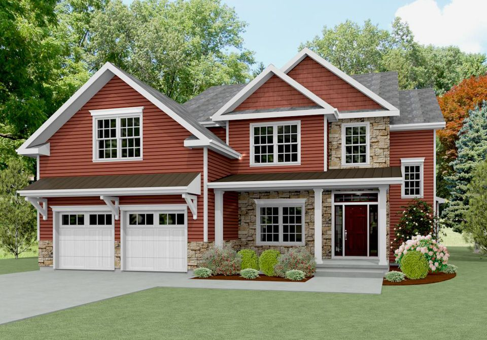 Exterior featured in The Strafford By Keswick Pointe in Poconos, PA