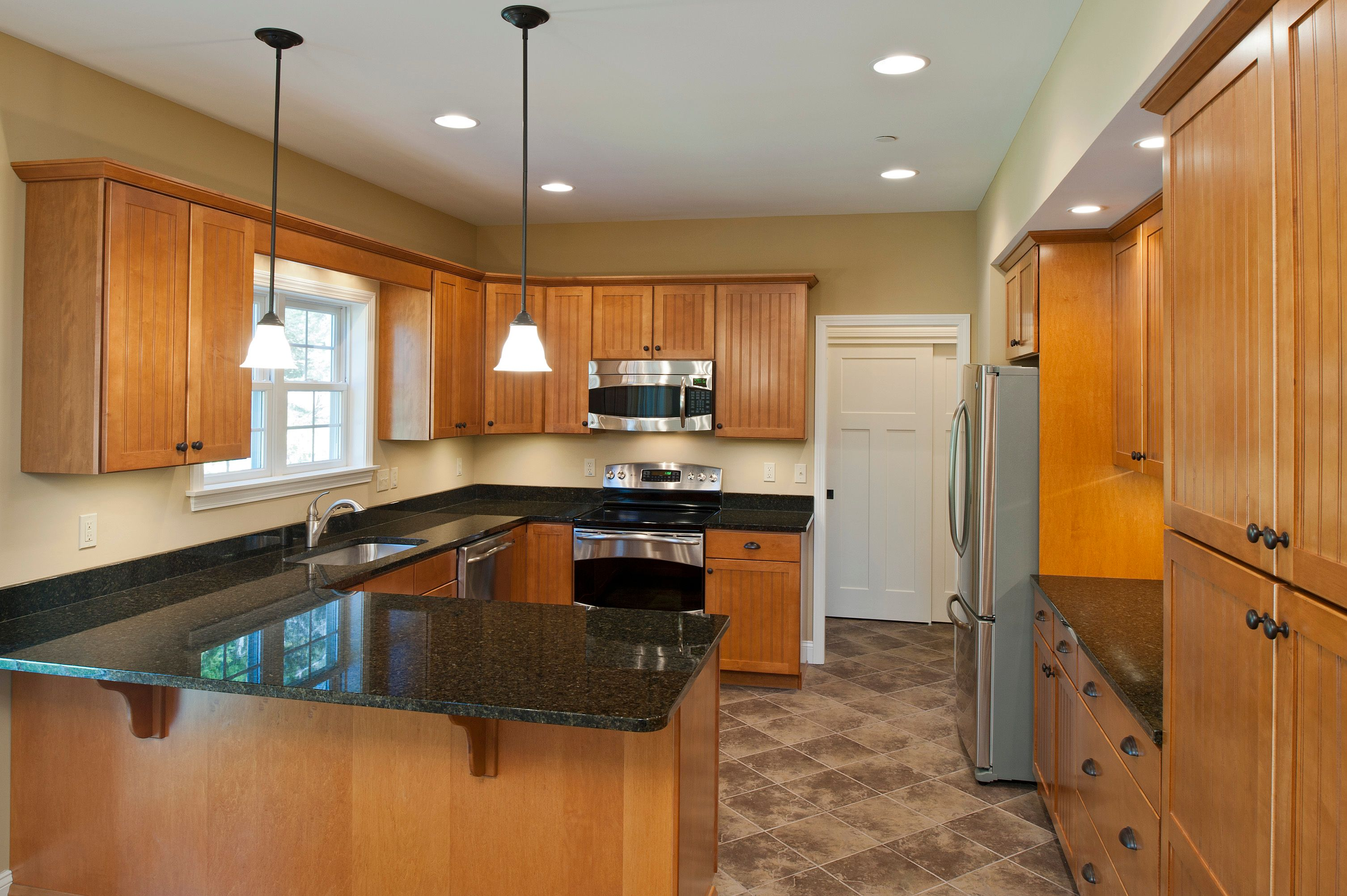 Kitchen featured in The Haverford By Keswick Pointe in Poconos, PA