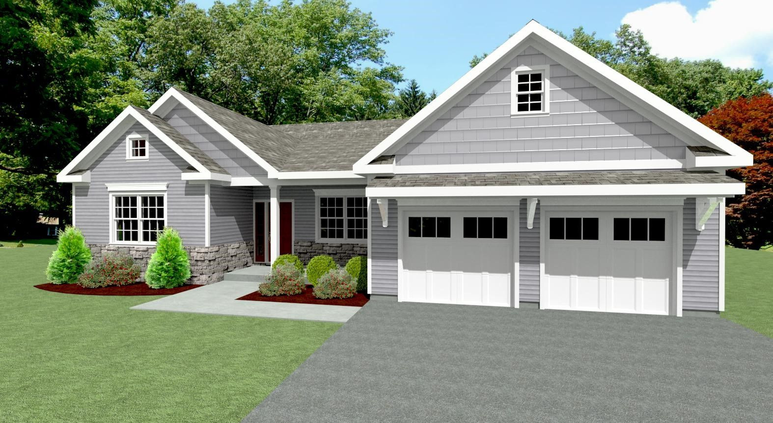 Exterior featured in The Wayne By Keswick Pointe in Poconos, PA