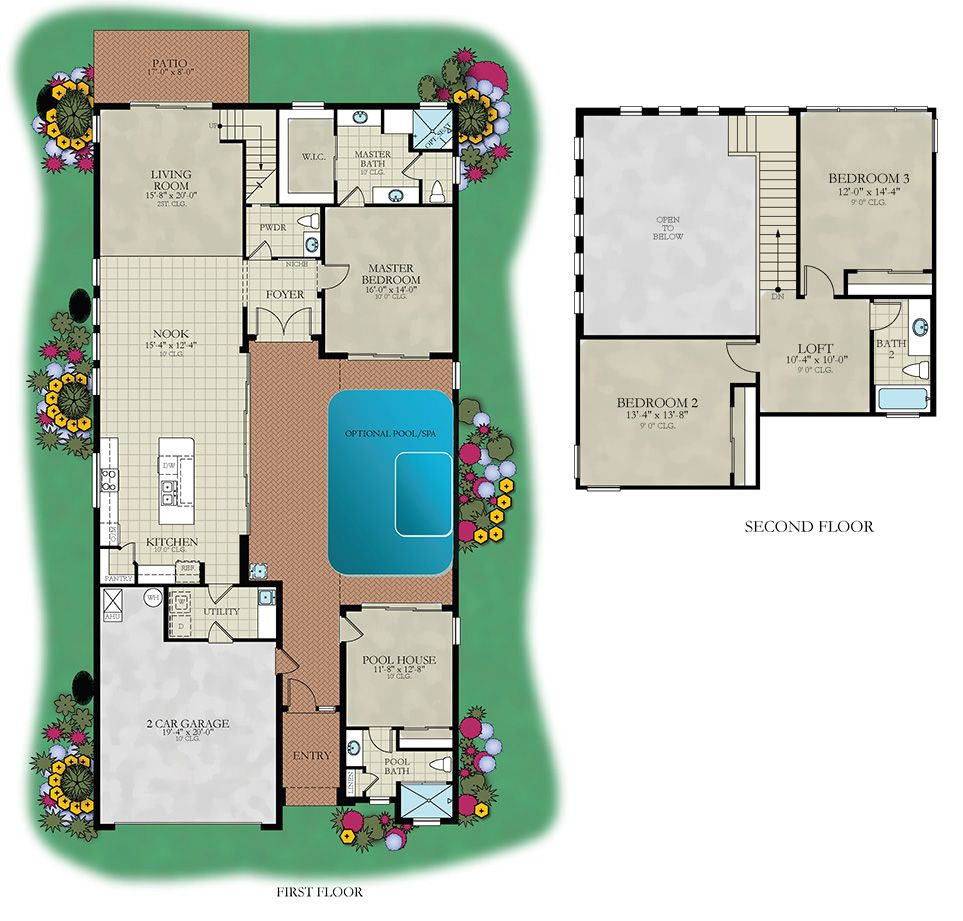 Courtyard:Floor Plan