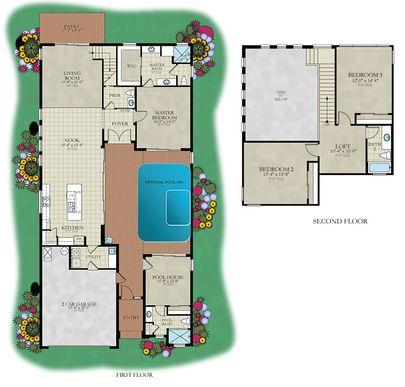 Courtyard:Floor Plan
