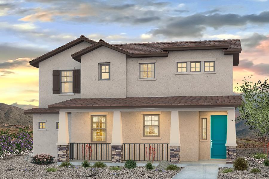 Exterior:The IPA Included Craftsman Elevation