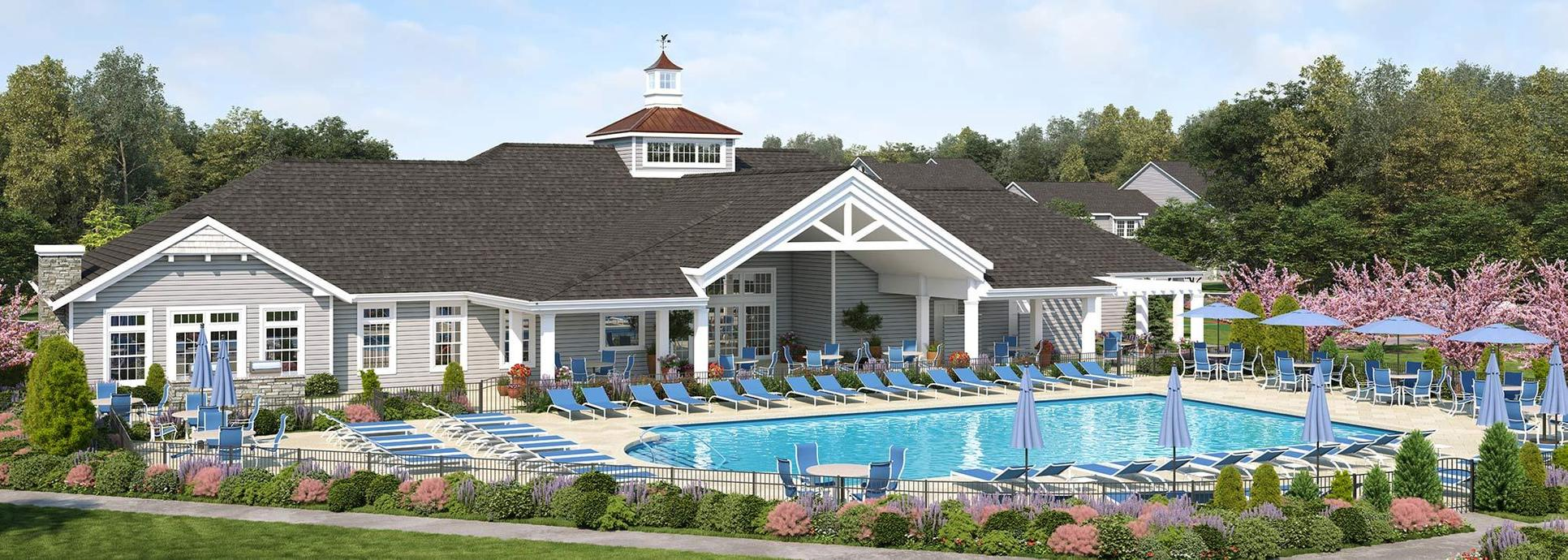 Vineyards at Brookfield Center Moriches:Our spectacular 6,480 square foot Vineyards Club is the centerpiece of our community