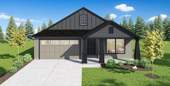 Exterior:Plan 1549 Elevation 6