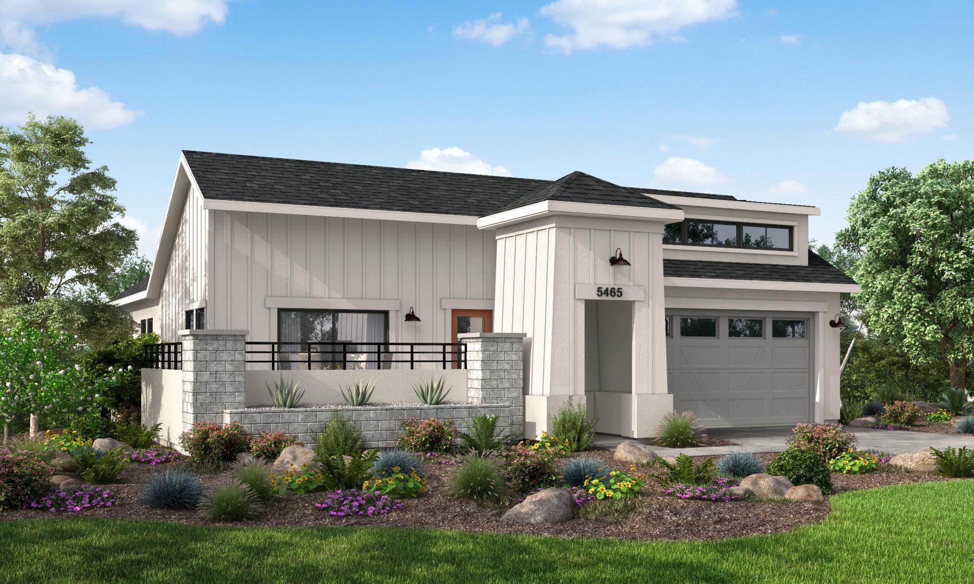 Cabrillo Plan:Contemporary Farmhouse Style