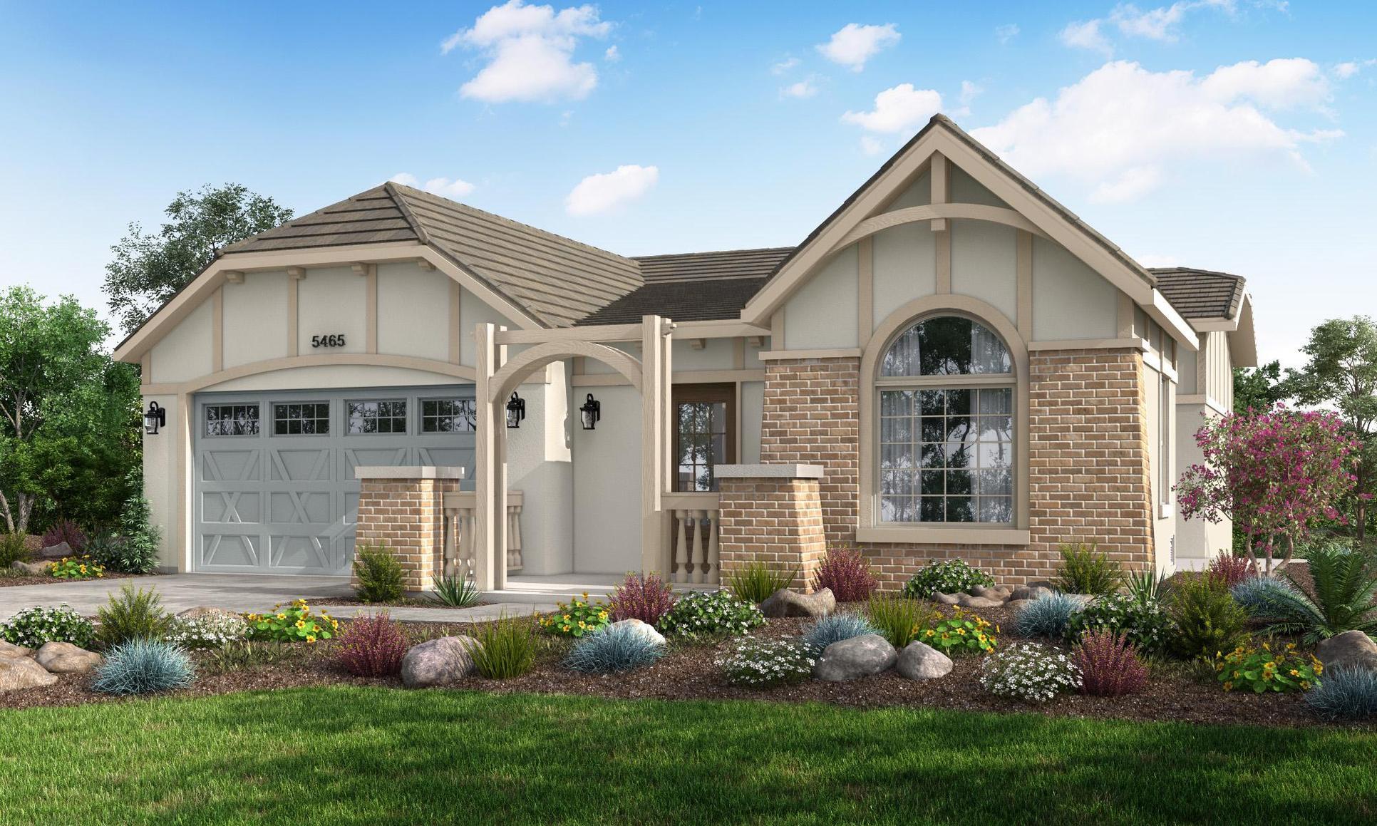 Bishop Plan:Carmel Cottage Style
