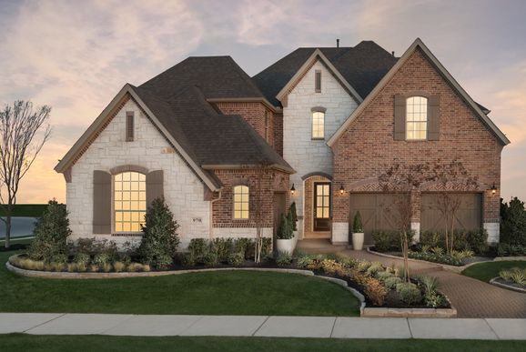 Star Trail 65s Model Plan 609 Front Elevation by American Legend Homes