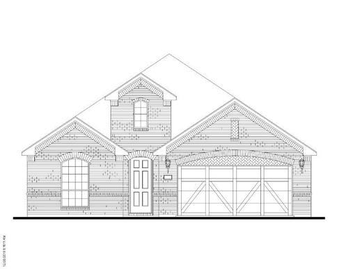 Exterior:Plan 1520 Elevation A