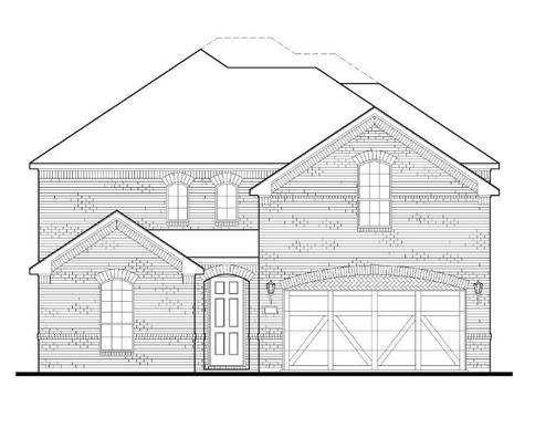 Exterior:Plan 1526 Elevation A