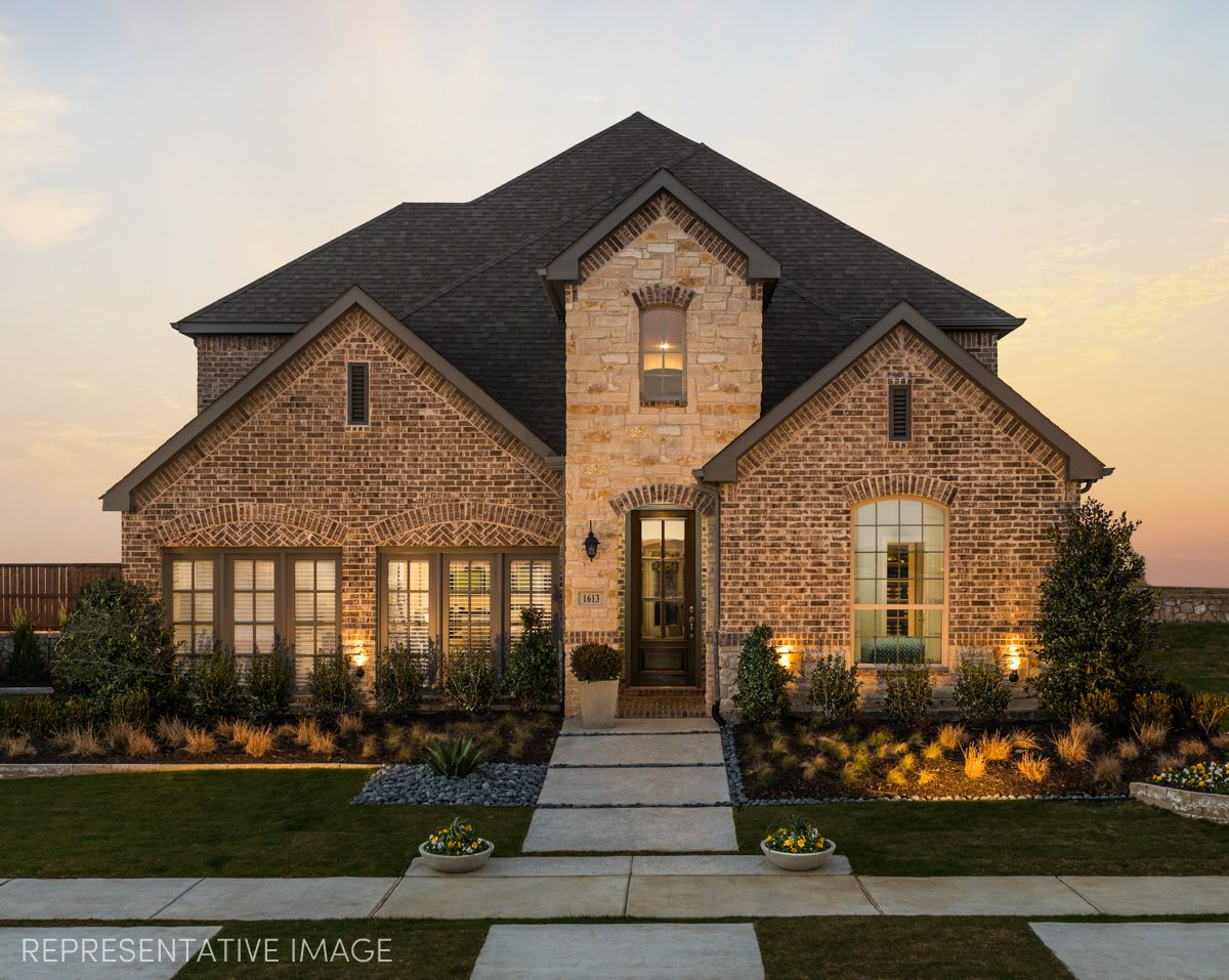 Exterior:Representative Image of Plan 1603 by American Legend Homes
