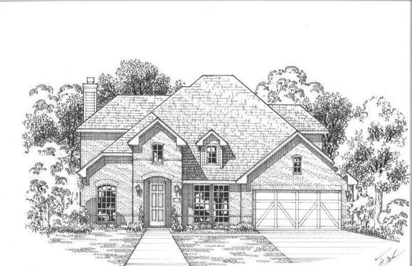 Exterior:Plan 1604 Elevation A