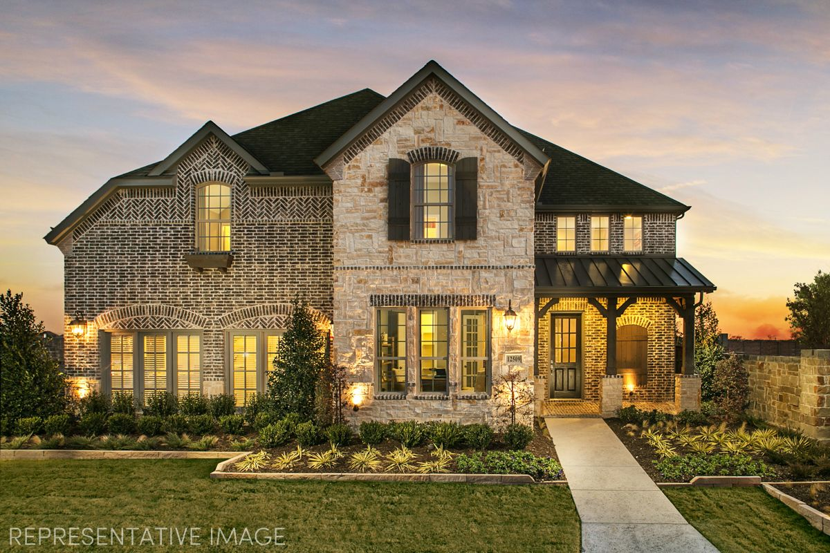 Exterior:Representative Photo of Plan 1607 by American Legend Homes