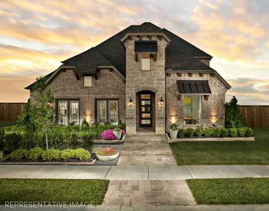 Exterior:Representative Photo of Plan 1196 from American Legend Homes