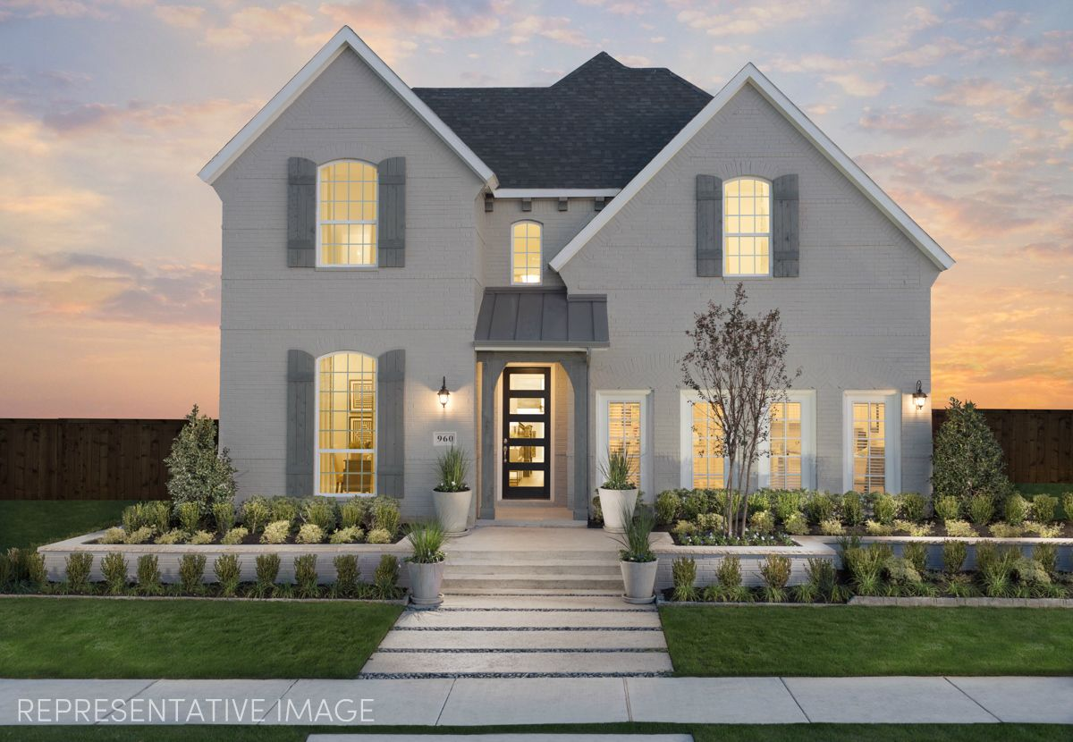 Exterior:Representative Photo of Plan 1167 by American Legend Homes