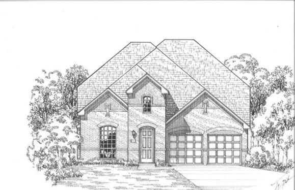 Exterior:Plan 1118 Elevation E