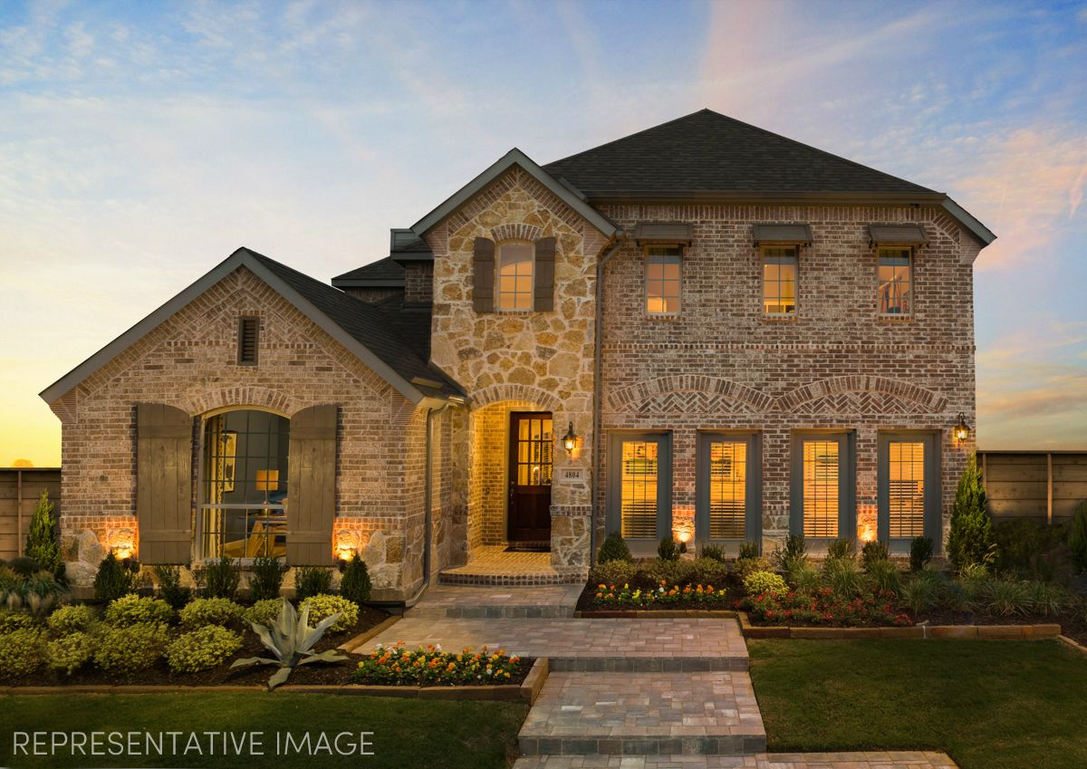 Exterior:Representative Photo of Plan 1504 by American Legend Homes