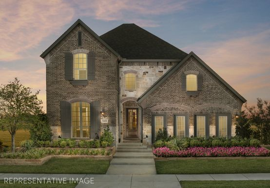 Exterior:Representative Photo of Plan 1163 by American Legend Homes