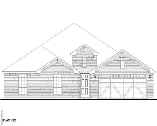Exterior:Plan 1682 Elevation A