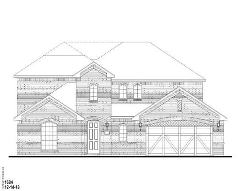 Exterior:Plan 1684 Elevation A