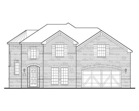 Exterior:Plan 1687 Elevation A