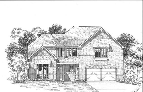 Exterior:Plan 1608 Elevation A