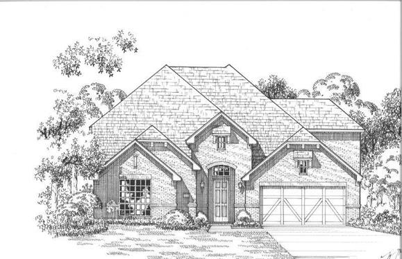 Exterior:Plan 1609 Elevation A