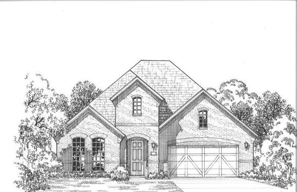 Exterior:Plan 1652 Elevation A