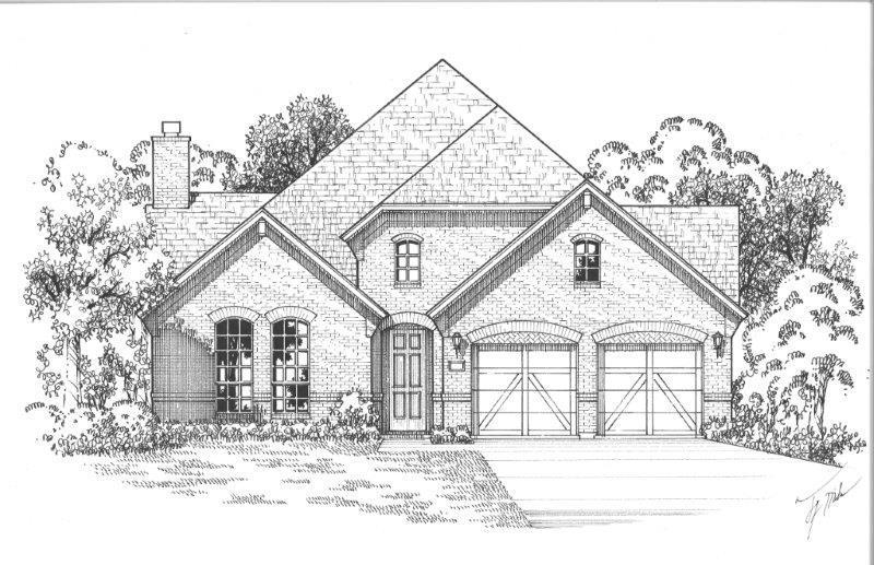 Exterior:Plan 1653 Elevation A