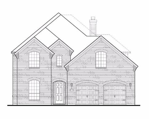 Exterior:Plan 1665 Elevation A