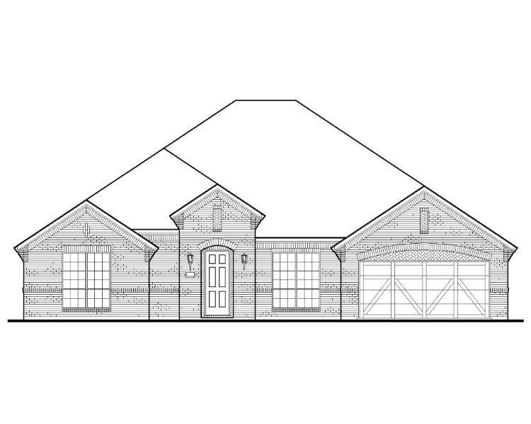 Exterior:Plan 1713 Elevation A