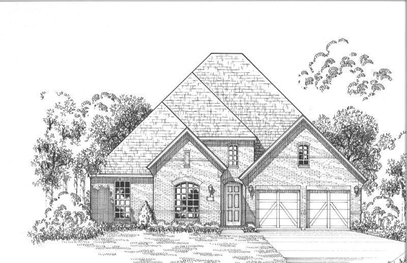 Exterior:Plan 612 Elevation A