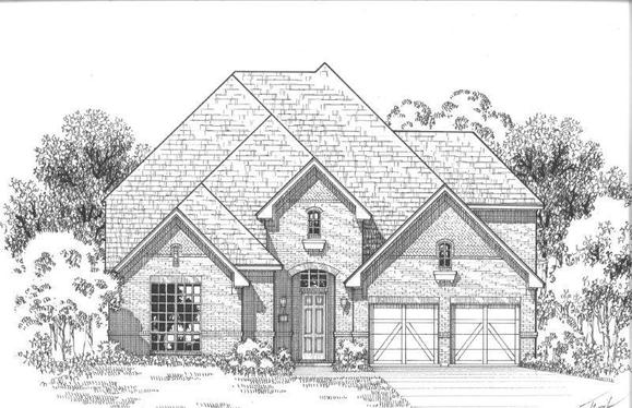 Exterior:Plan 633 Elevation A