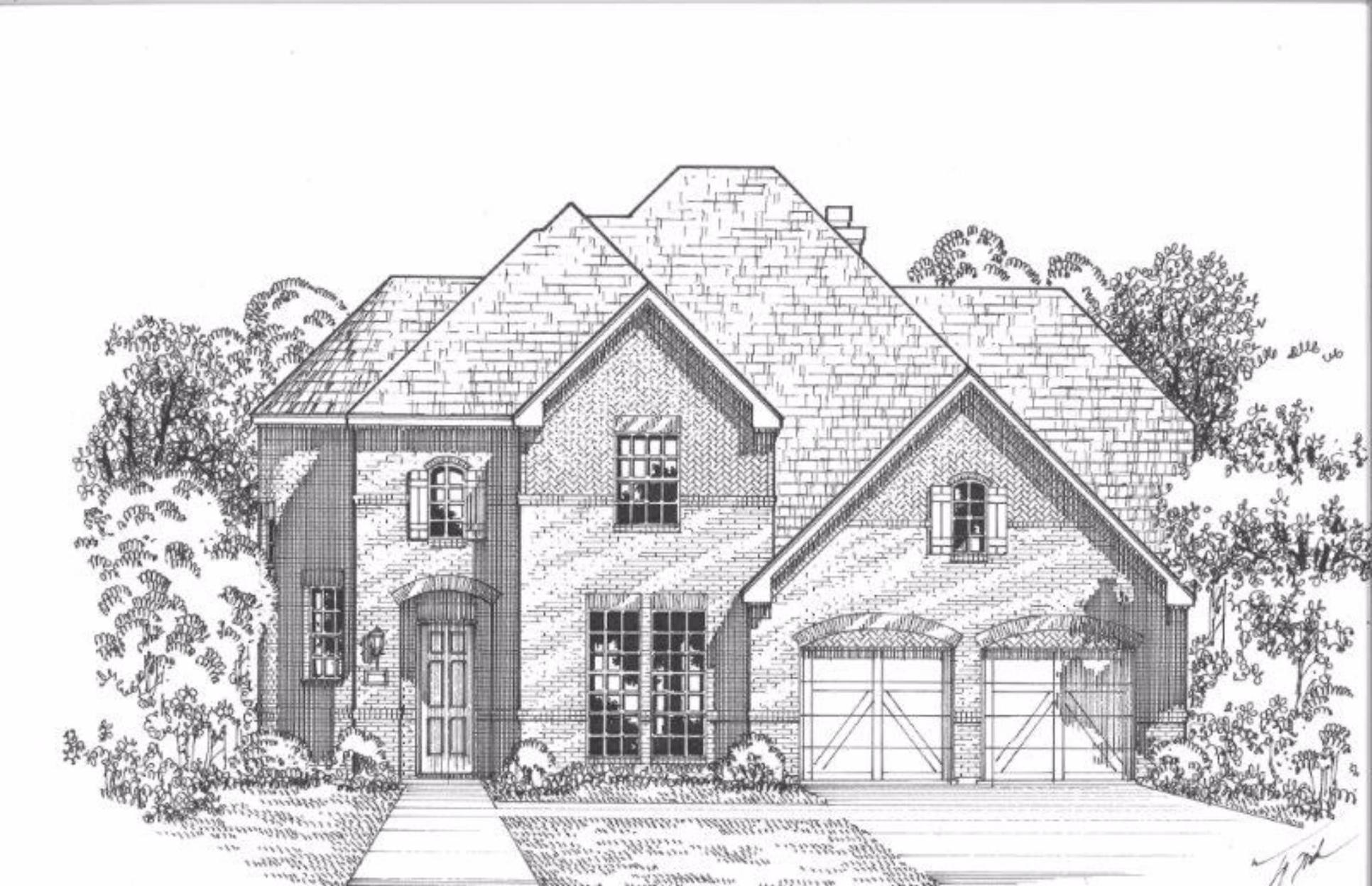 Exterior:Plan 629 Elevation A