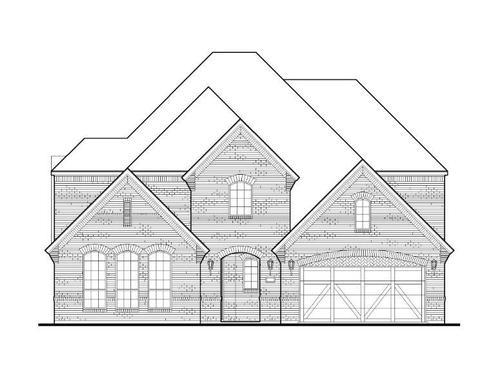 Exterior:Plan 1634 Elevation A