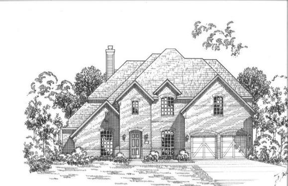 Exterior:Plan 1706 Elevation D