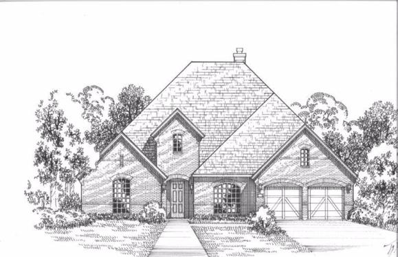 Exterior:Plan 1702 Elevation D