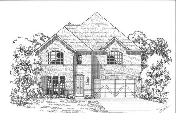 Exterior:Plan 1197 Elevation A