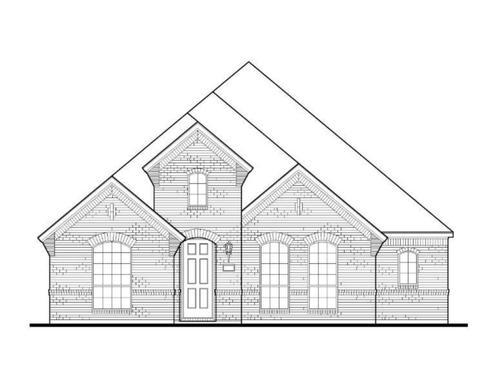 Exterior:Plan 1591 Elevation A